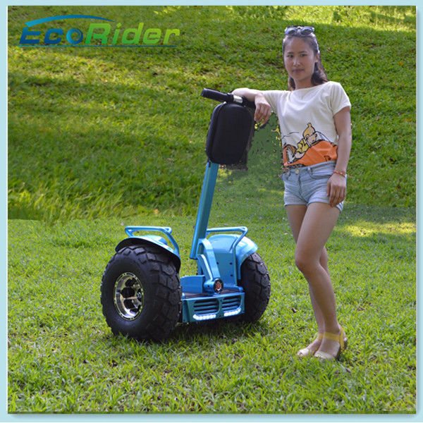 72V Chariot Electric Scooter / Segway Mobility Scooters Ecorider Lithium Battery