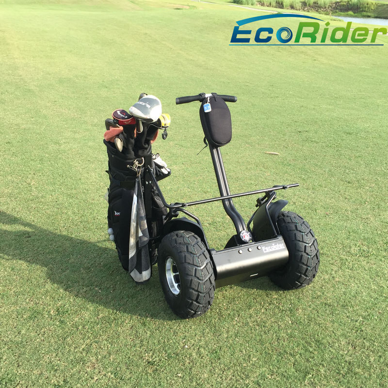 Waterproof Electric Golf Scooter / Stand On Scooter With 2 Wheels 30 Degree