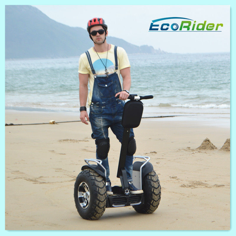 Brush Or Brushless Motor Electric Chariot Scooter Black Two Wheel Segway