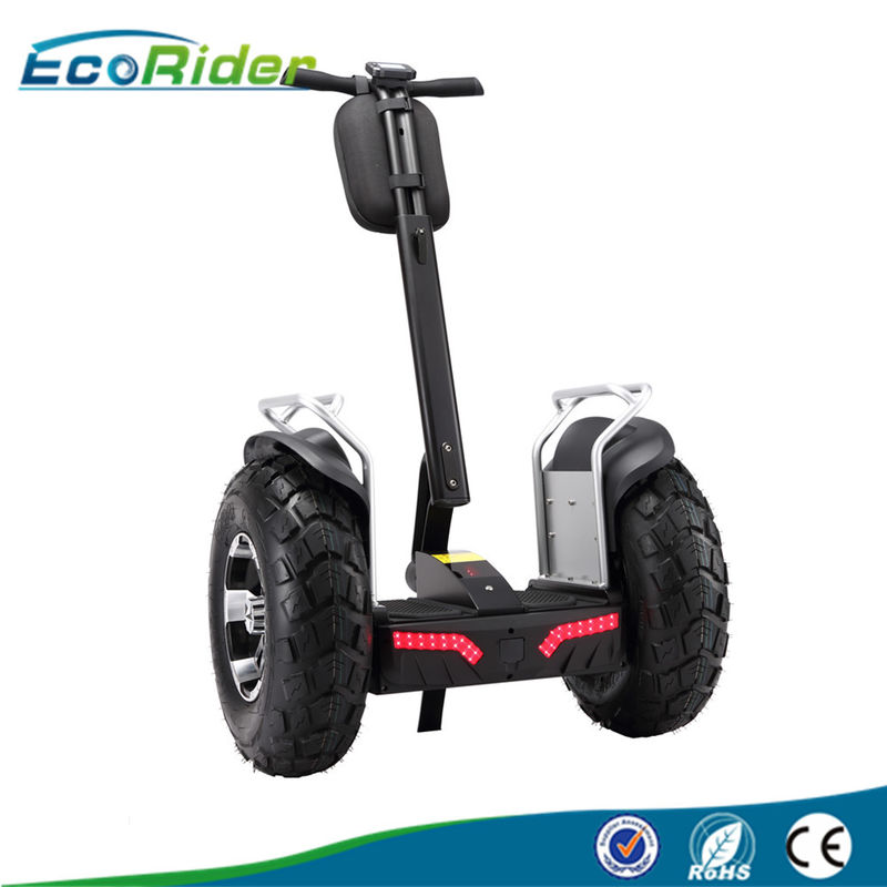 Double Battery 72v 2 Wheel Balance Scooter 4000w With App Controlled , 20km/H Max Speed