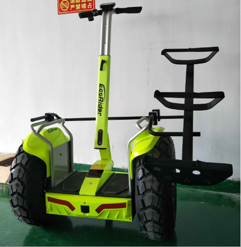 Stand Up Off Road Electric Golf Scooter 21 Inch 2 Wheel Balancing Scooter
