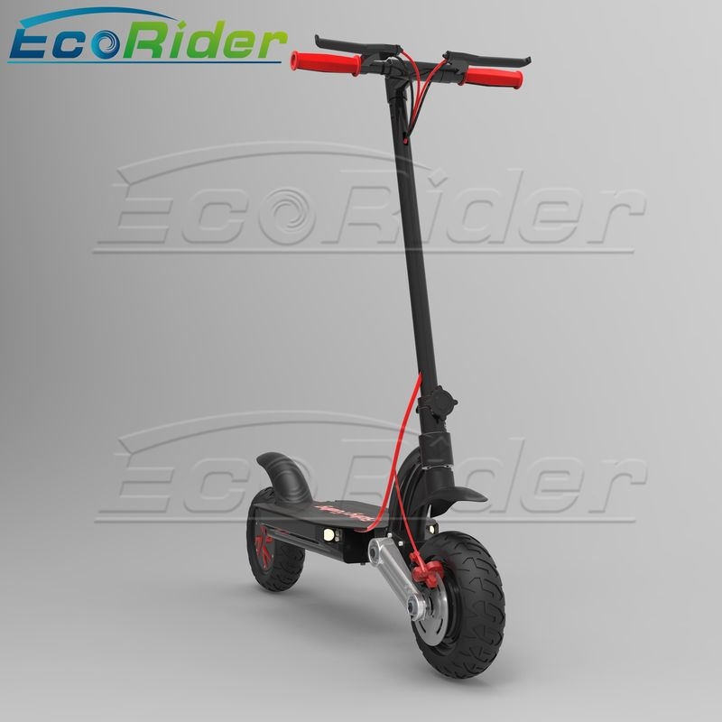 EcoRider Foldable Electric Scooter Aluminium Alloy 2 Wheel Off Road 48v 1000w Self Balancing