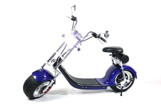 2 Wheel Electric Scooter For Adults , 1000 watt Fat Tires Citycoco Electric Scooter