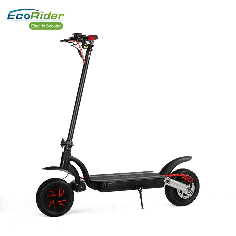 Portable Folding 2 Wheel Electric Bike Scooter Kick Scooter Off Road With Dual Motor