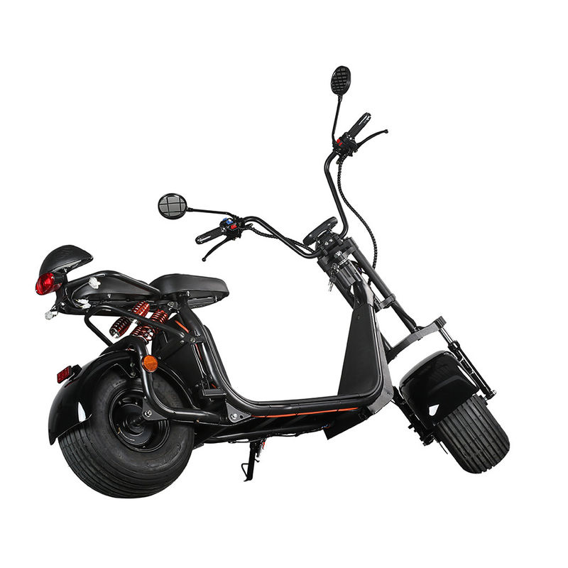 Ecorider 2 Wheel Electric Scooter 1500w EEC City Coco LED Turn Light With Fat Tire