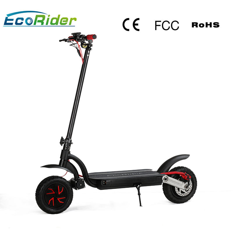 Portable Folding Two Wheel Electric Bike Scooter Dual Motor With Double Battery